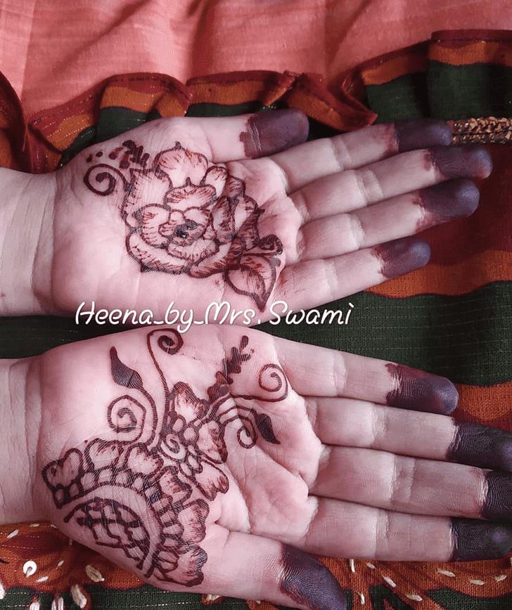 Beauteous Kuwait Henna Design