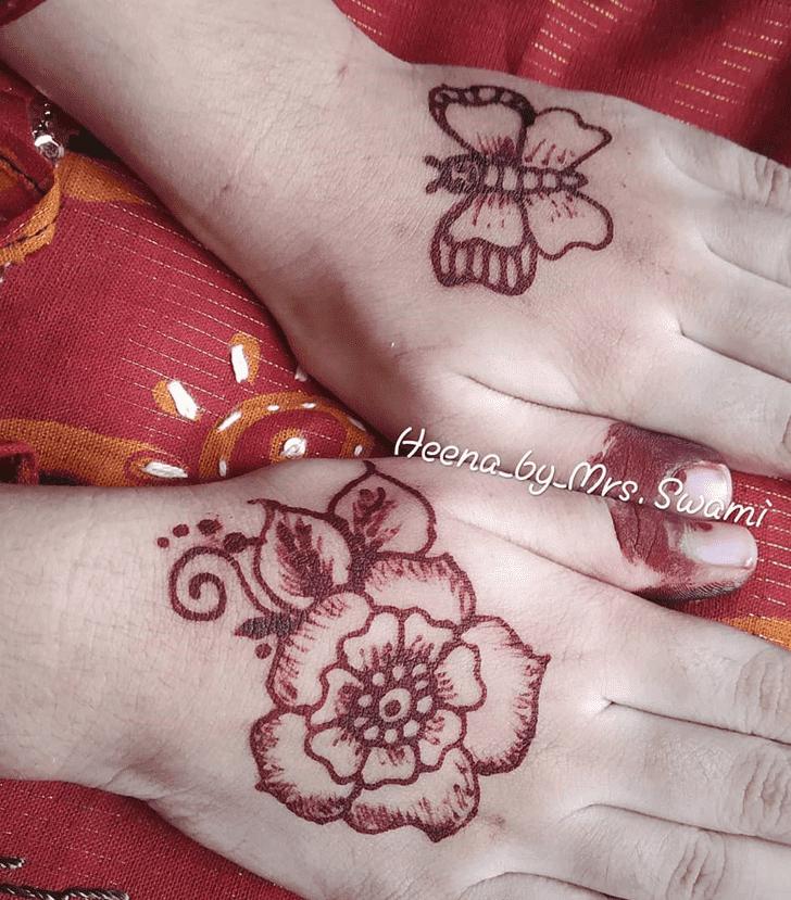 Bewitching Kuwait Henna Design