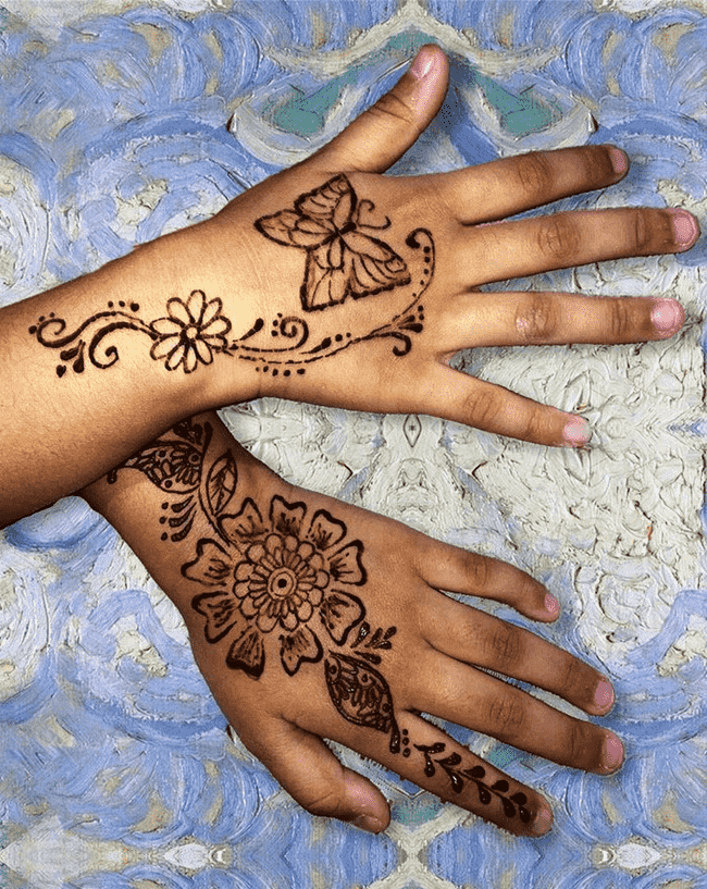 Adorable Ladakh Henna Design