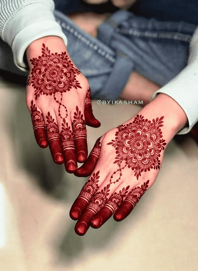 Alluring Ladakh Henna Design