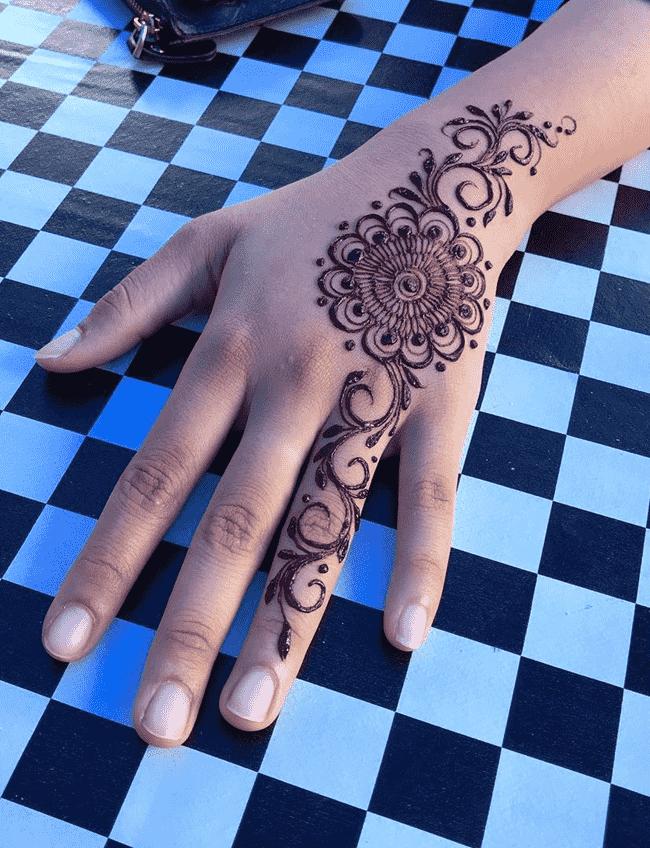 Angelic Ladakh Henna Design