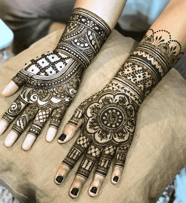 Appealing Ladakh Henna Design