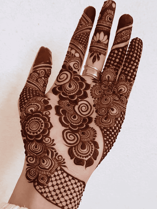 Beauteous Ladakh Henna Design