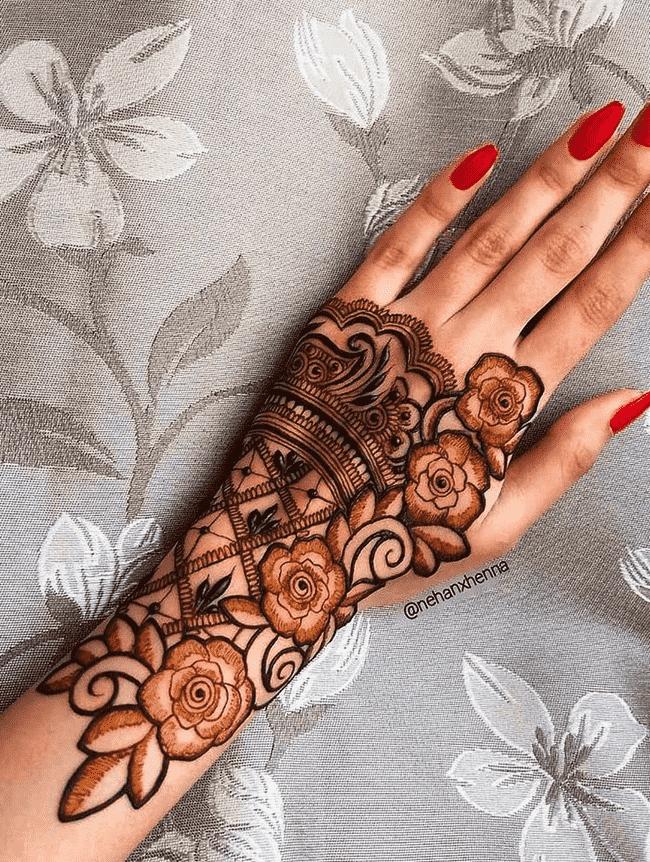 Bewitching Ladakh Henna Design