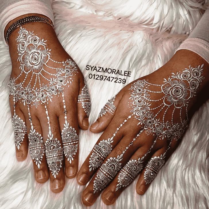 Fair Larkana Henna Design