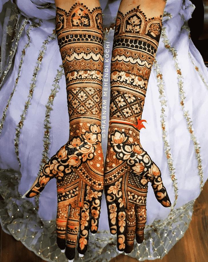 Appealing London Henna Design