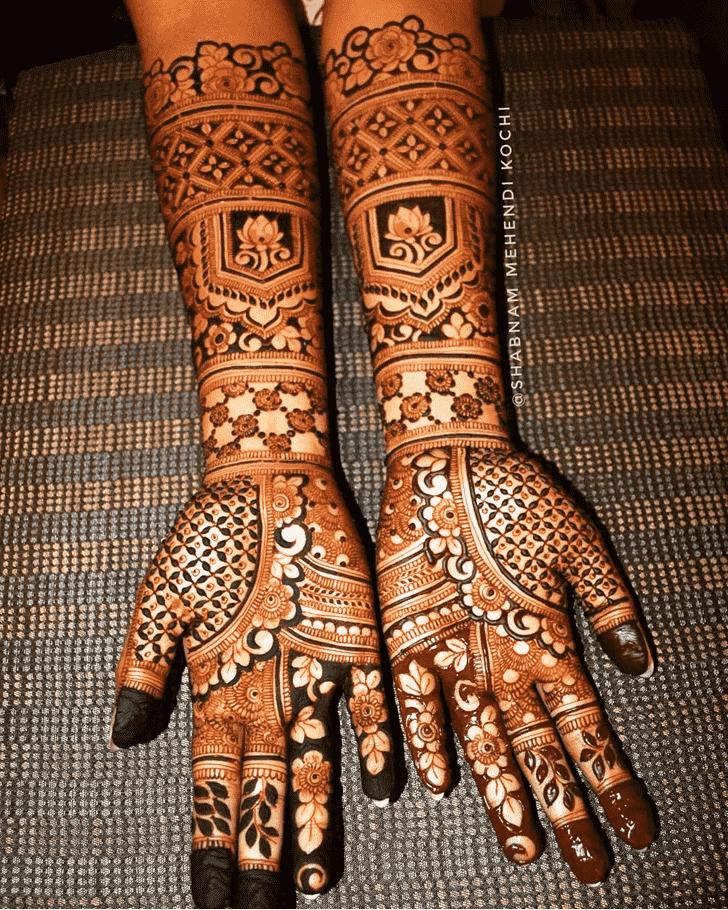 Charming London Henna Design