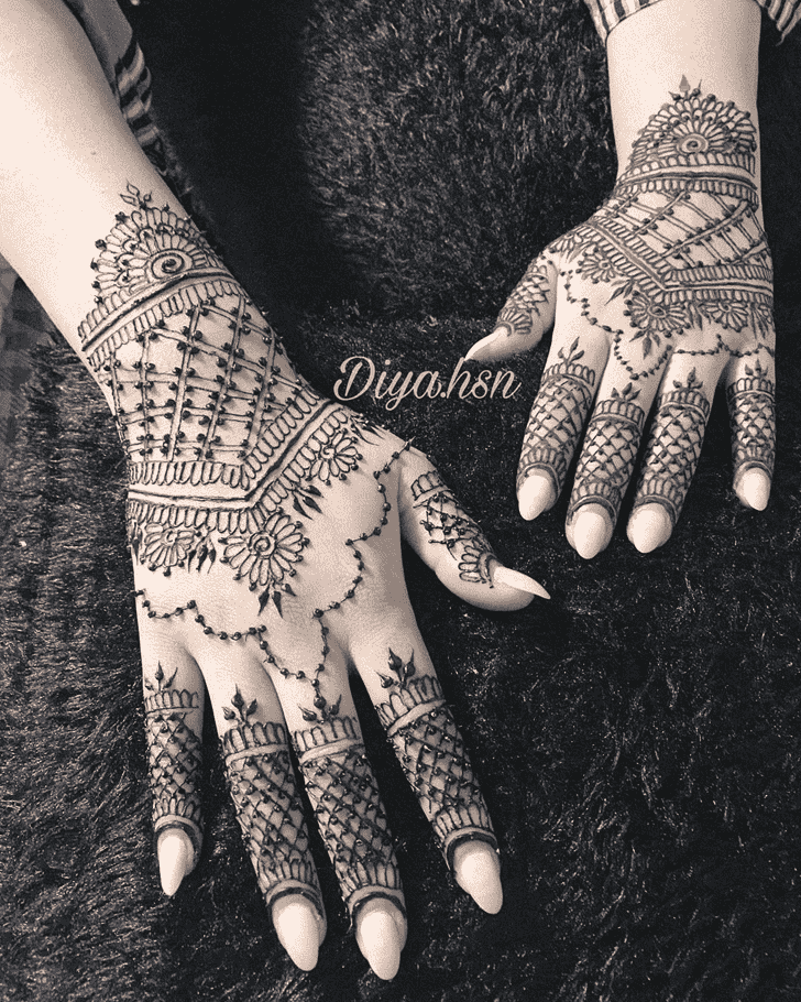 Alluring Los Angeles Henna Design