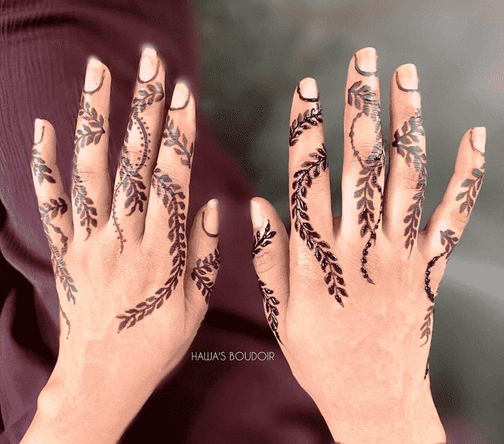 Beauteous Los Angeles Henna Design
