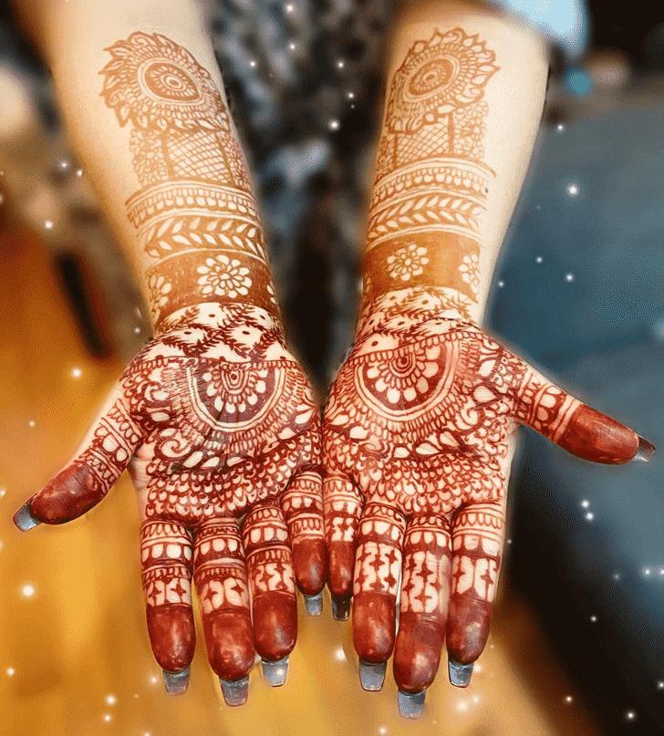 Bewitching Los Angeles Henna Design