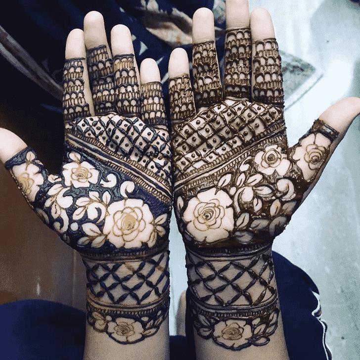 Alluring Lovely Henna design