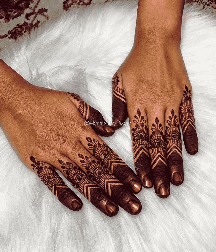 Classy Lovely Henna design