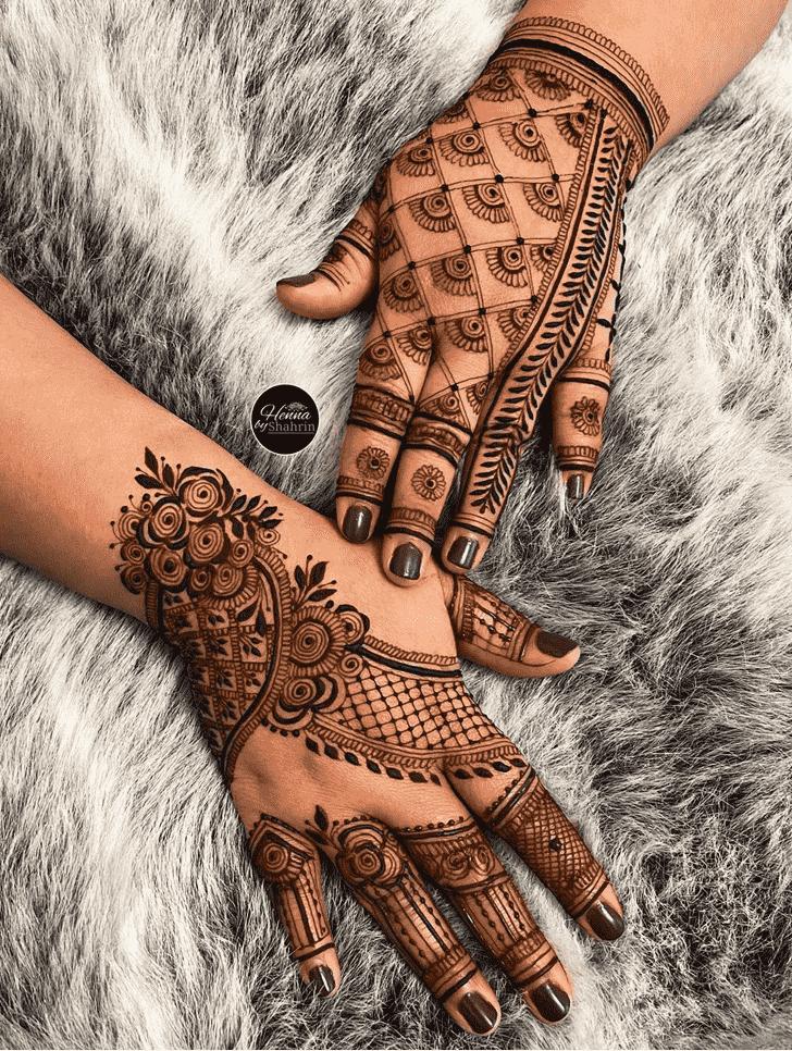Dazzling Lovely Henna design