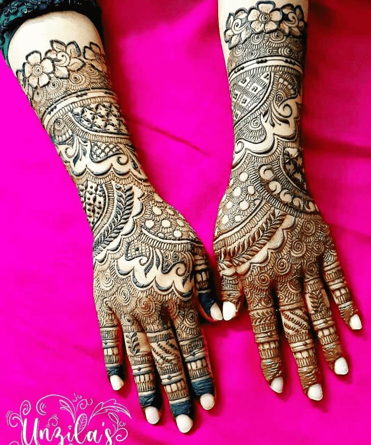 Elegant Lovely Henna design