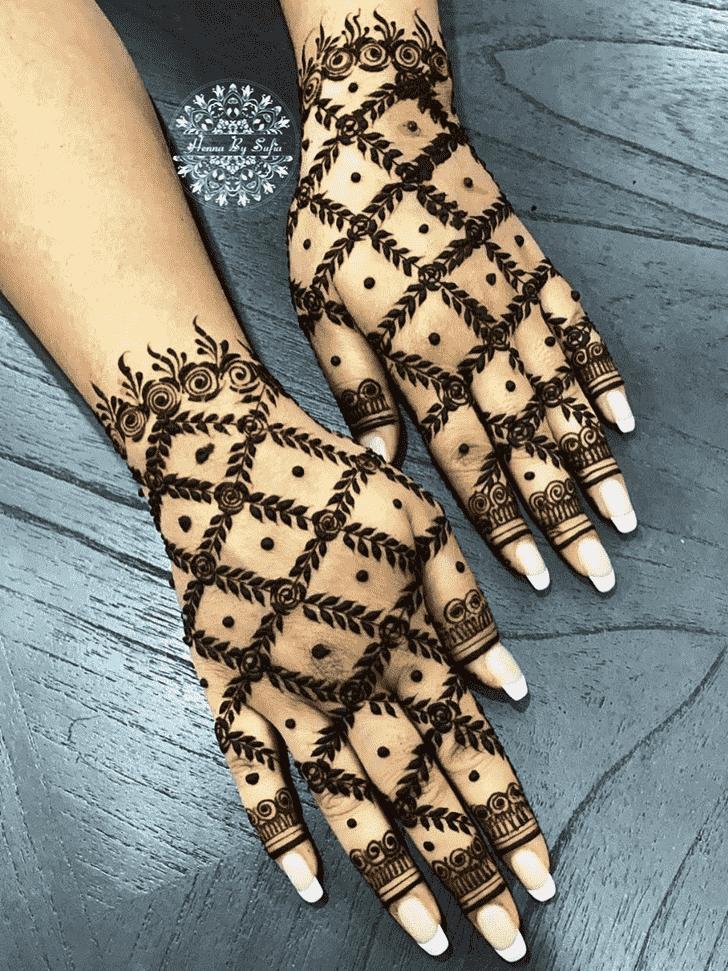 Enthralling Lovely Henna design
