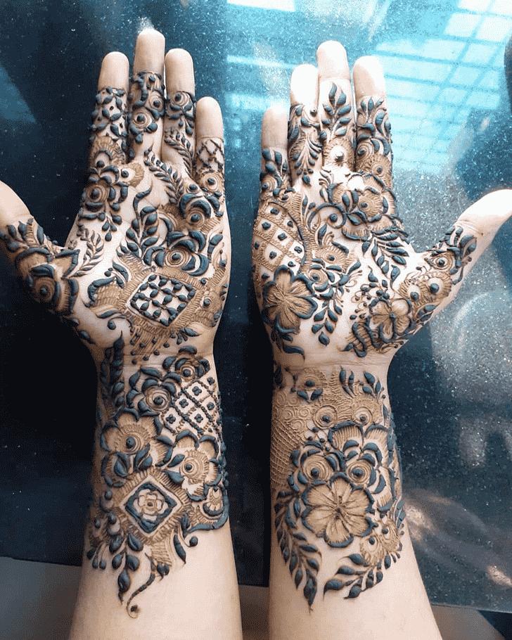 Excellent Lovely Henna design