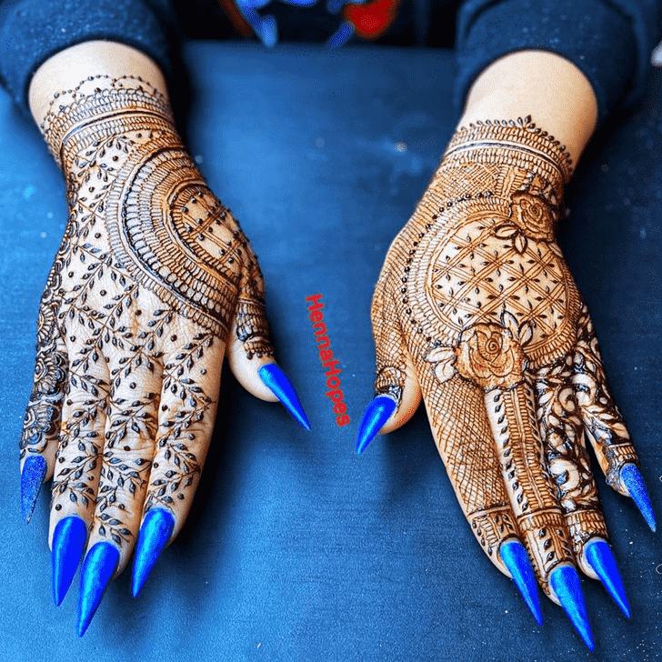 Fair Lovely Henna design