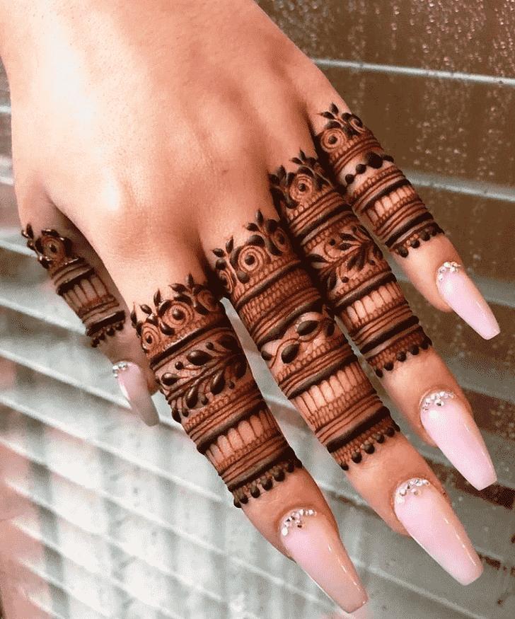 Fascinating Lovely Henna design