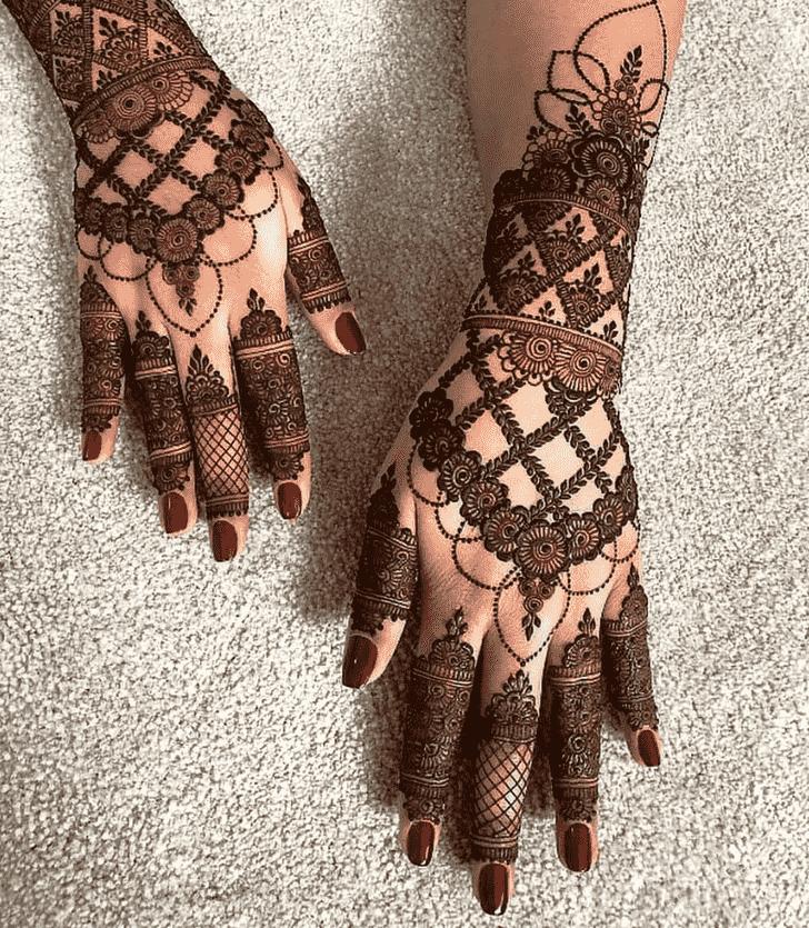 Gorgeous Lovely Henna design