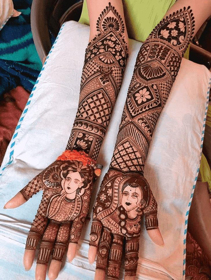 Graceful Lovely Henna design