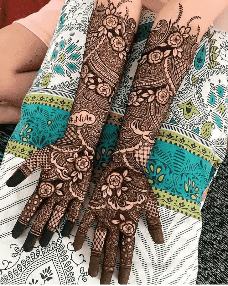 Grand Lovely Henna design