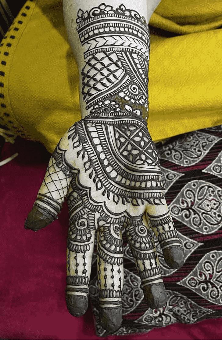 Awesome Lovely Henna design