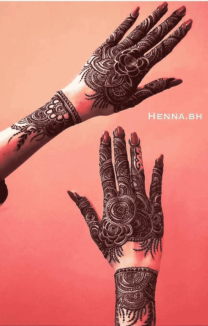Marvelous Lovely Henna design