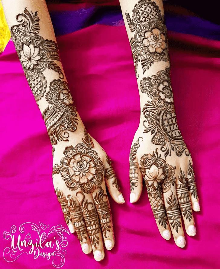 Ravishing Lovely Henna design