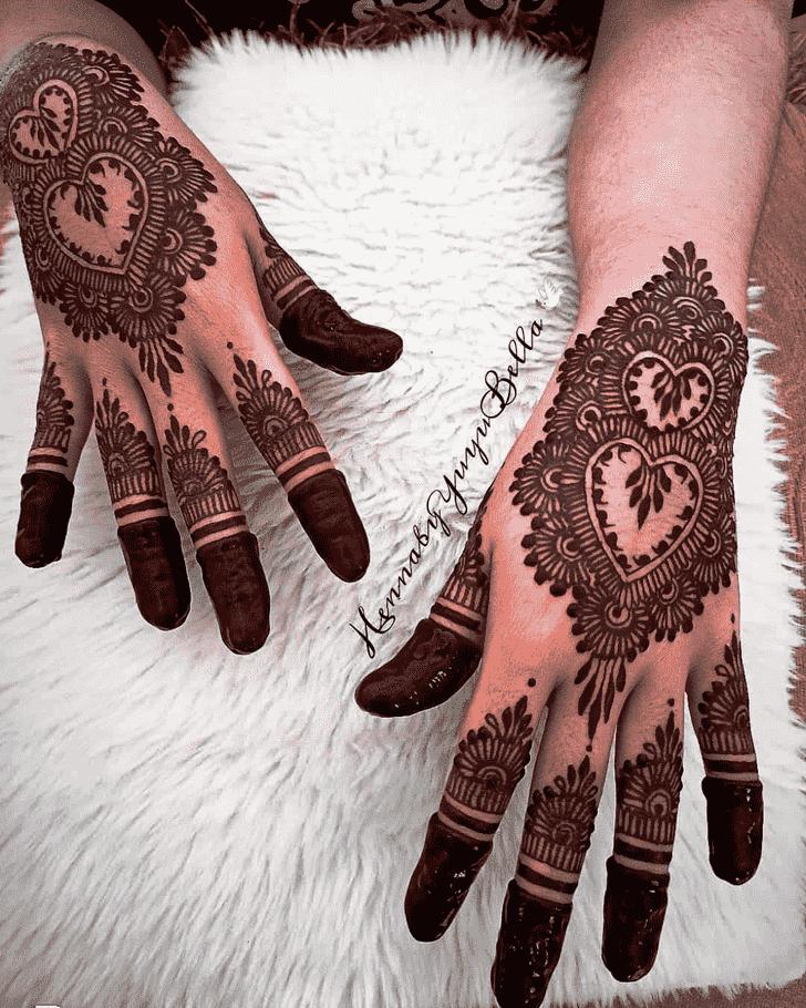 Slightly Lovely Henna design