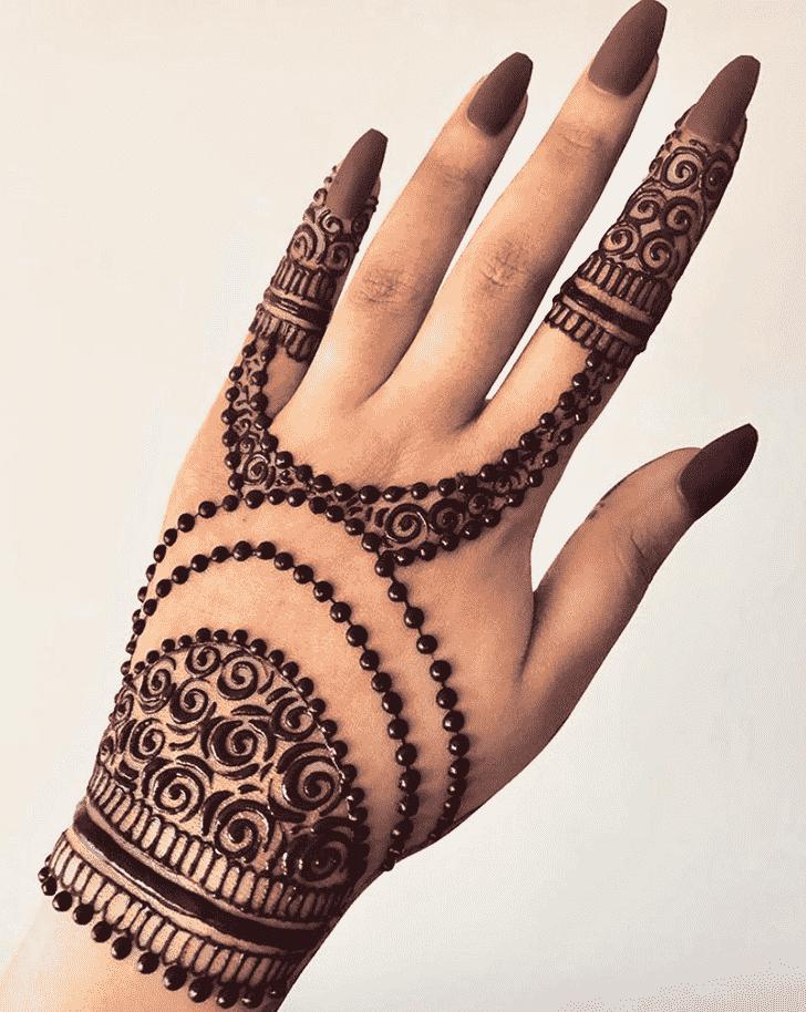 Angelic Lucknow Henna Design