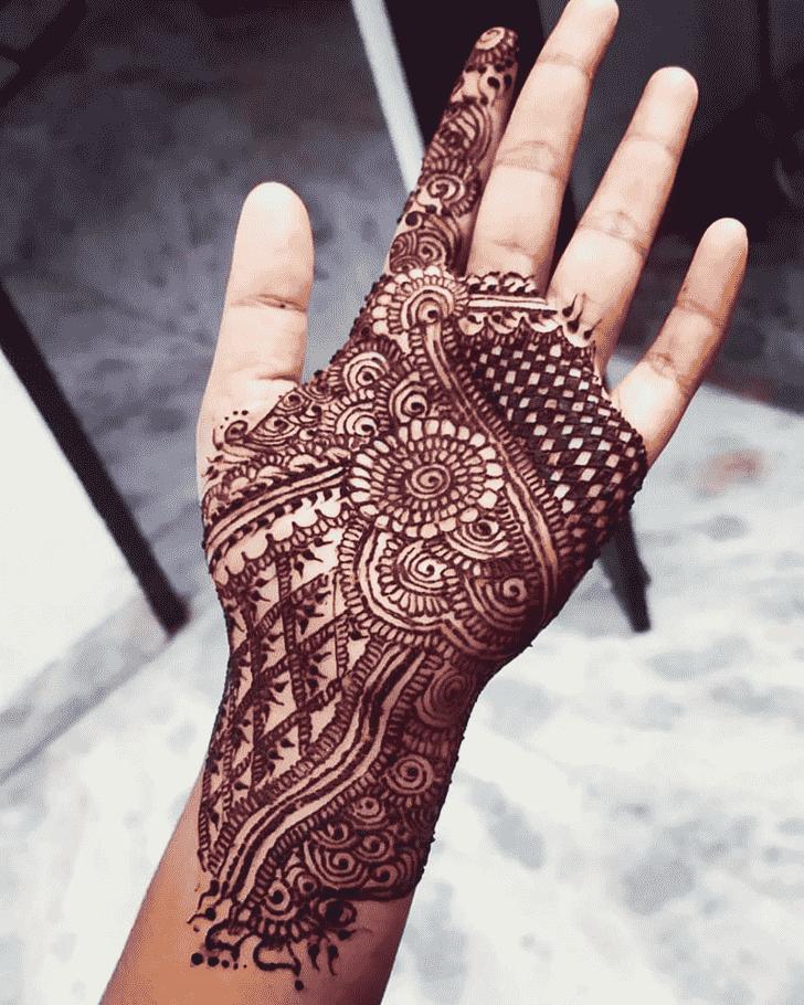 Alluring Madurai Henna Design