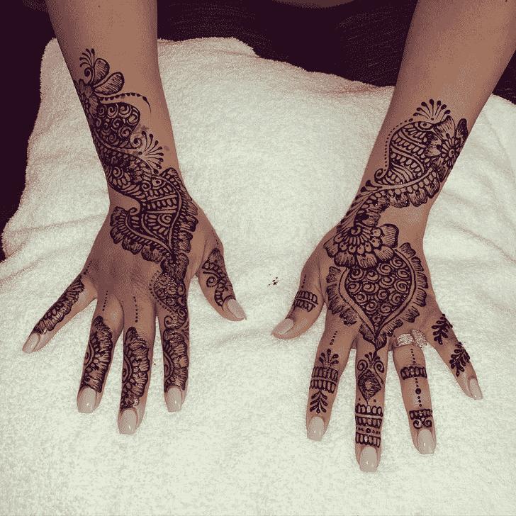 Angelic Madurai Henna Design