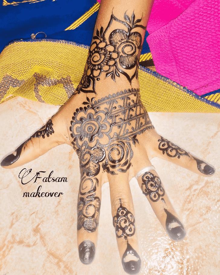 Beauteous Madurai Henna Design