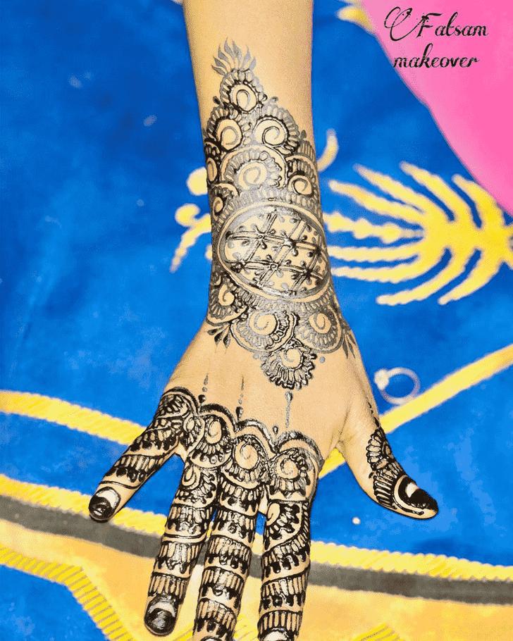 Bewitching Madurai Henna Design