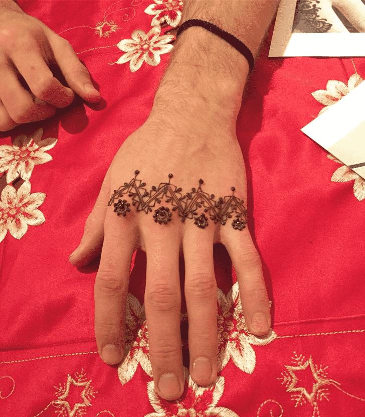 Angelic Male Henna Design