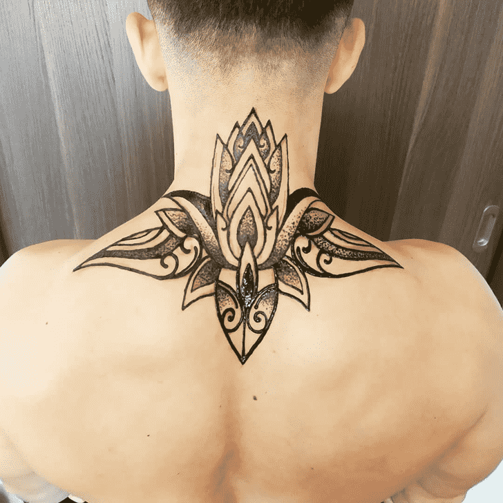 Charming Male Henna Design