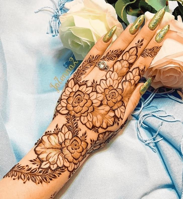 Angelic Mangalore Henna Design