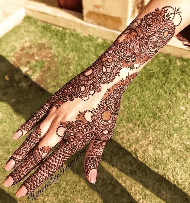 Beauteous Mangalore Henna Design