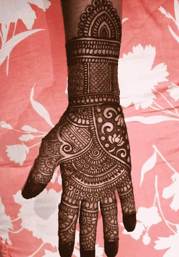 Bewitching Mangalore Henna Design