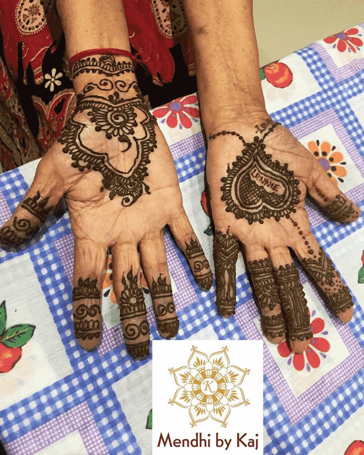 Dazzling Manipur Henna Design