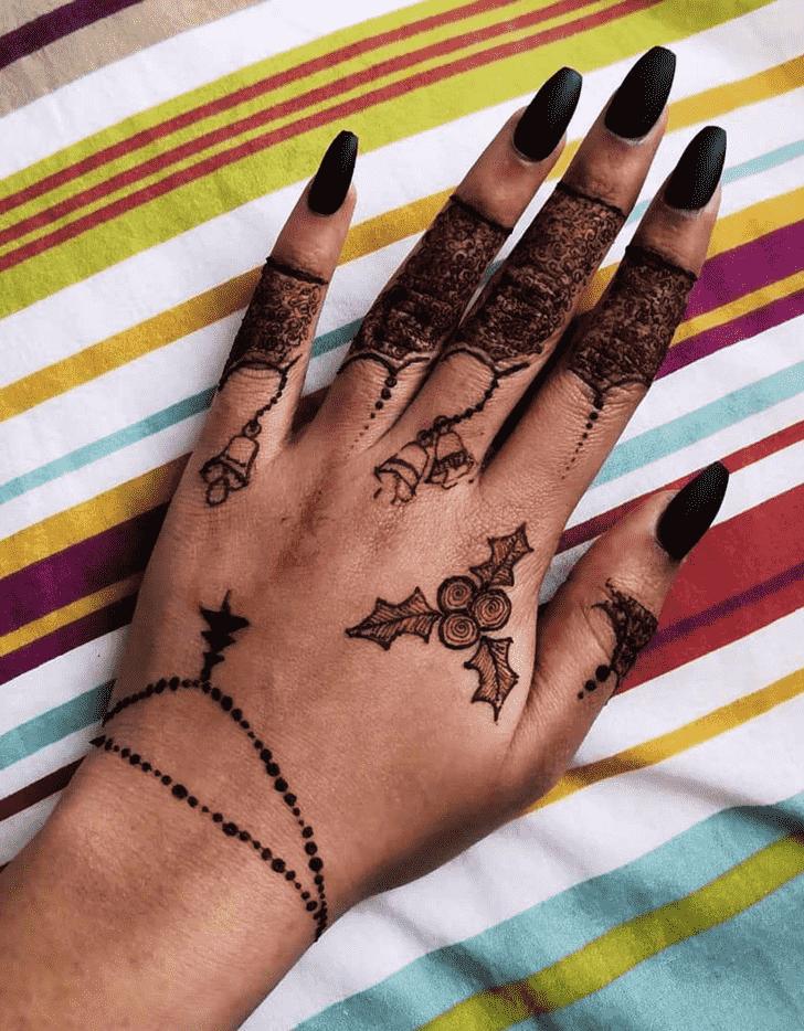 Elegant Manipur Henna Design