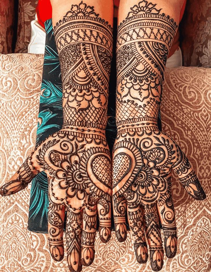 Enticing Manipur Henna Design