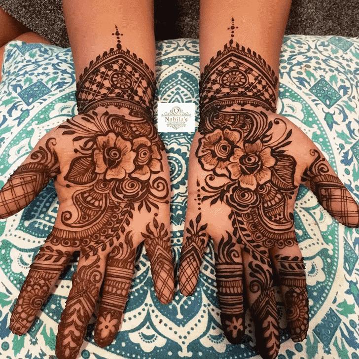 Excellent Manipur Henna Design