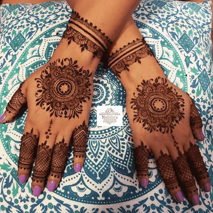 Exquisite Manipur Henna Design