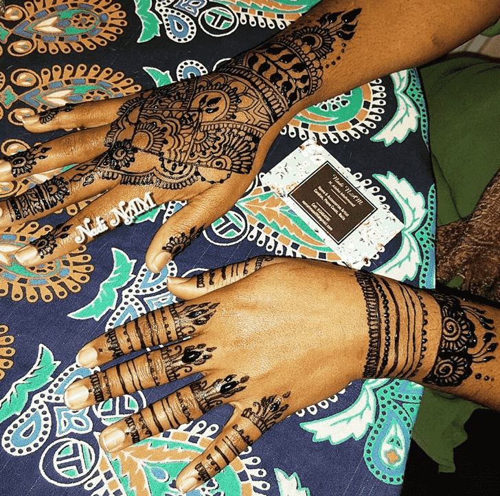 Fair Manipur Henna Design