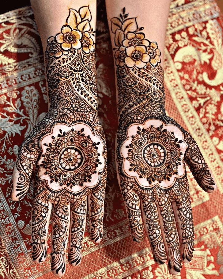 Ideal Manipur Henna Design