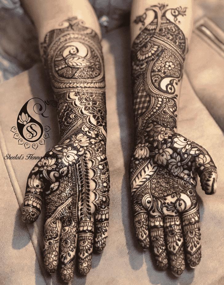 Magnificent Manipur Henna Design