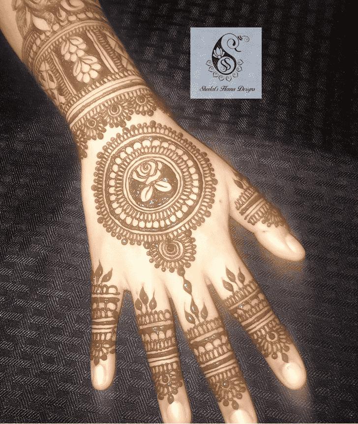 Marvelous Manipur Henna Design