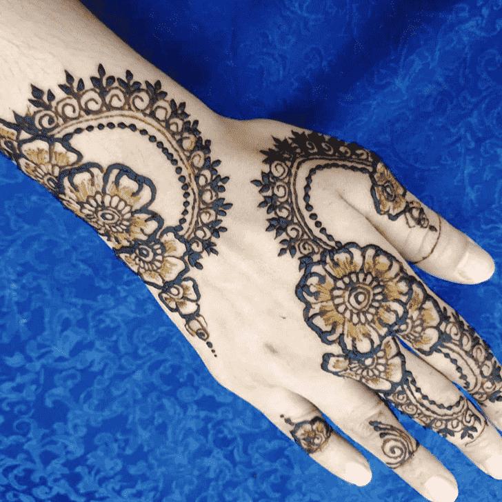 Radiant Manipur Henna Design
