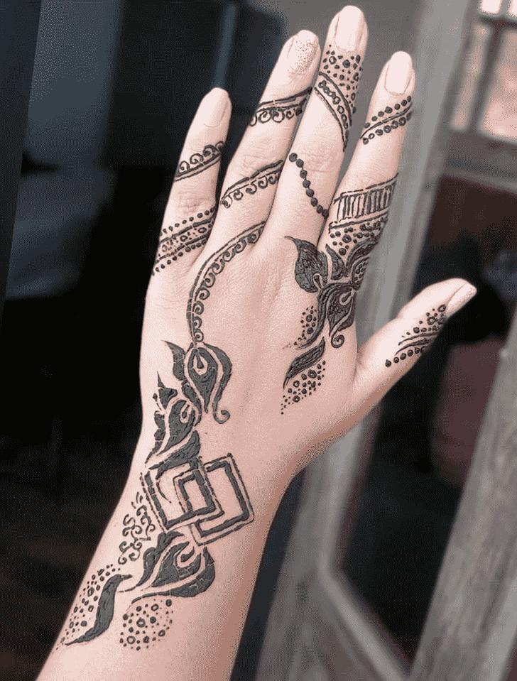 Ravishing Manipur Henna Design
